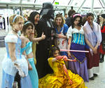 Zombie Disney and Vader MCM