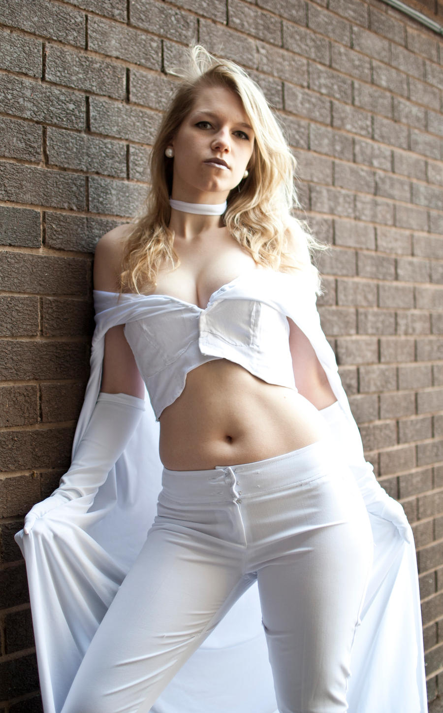 Emma Frost by snarkshot