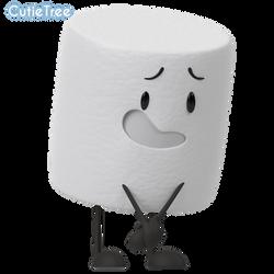 (InanimateInsanity)-Marshmellow by CutieTree