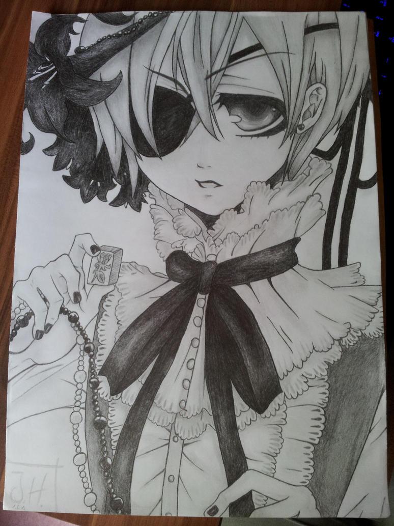 Black Butler Drawings Ciel Black Butler Drawing Ciel