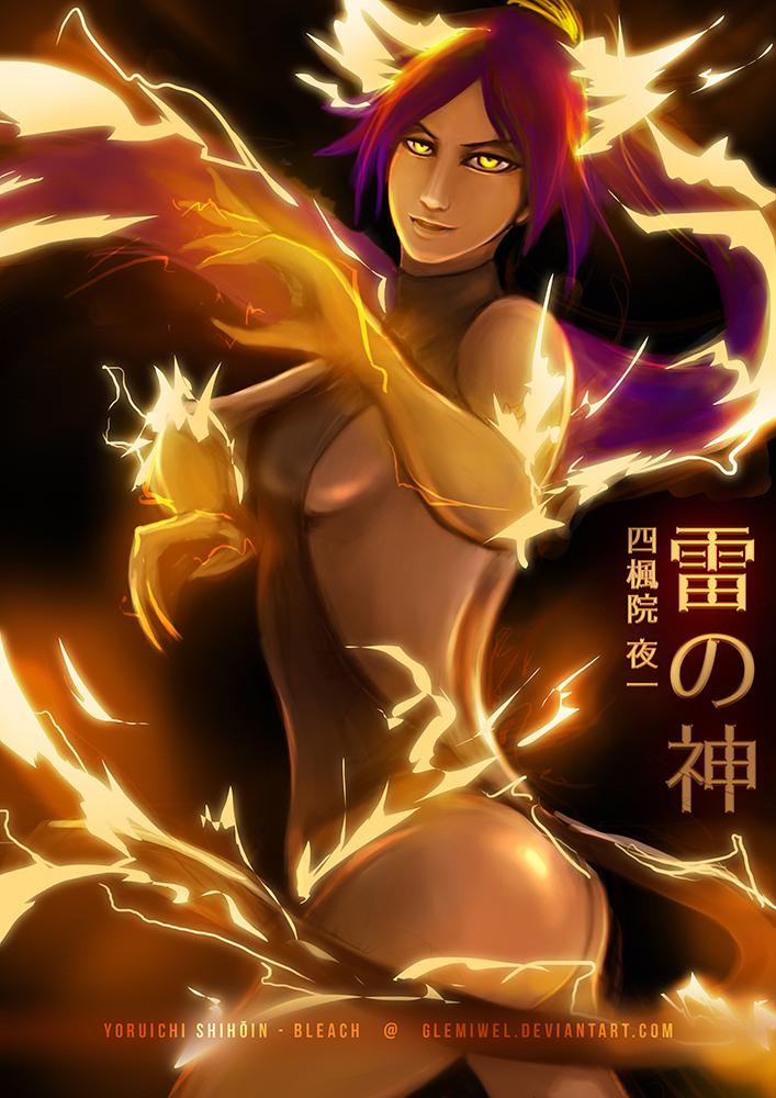 God Of Thunder Yoruichi By Glemiwel On Deviantart-4711