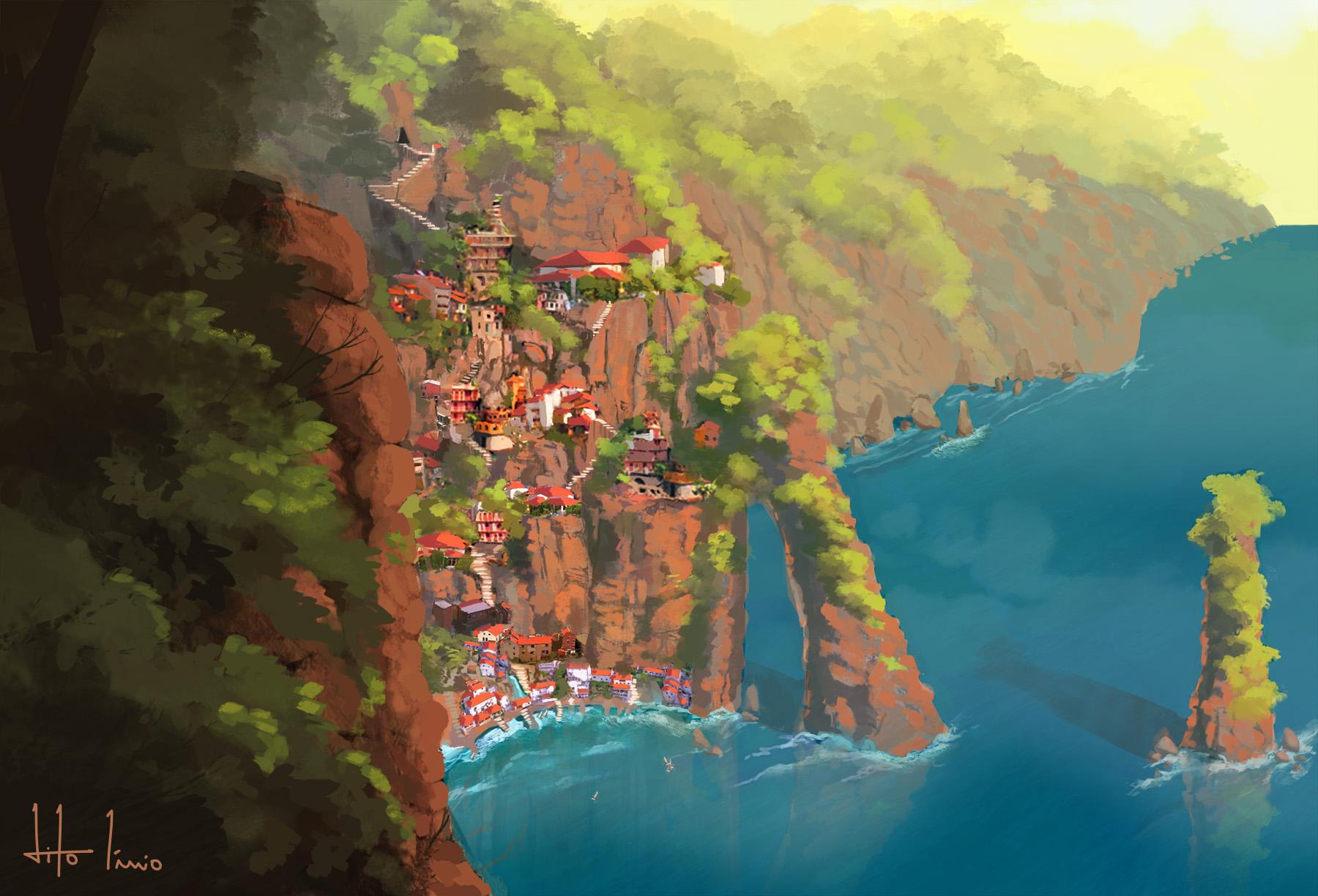 Village of Acantilado by SirTitus