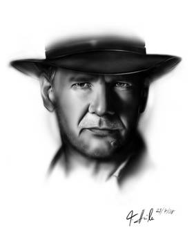 Harrison Ford Portrait