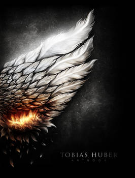 Burning Wing - Book Cover