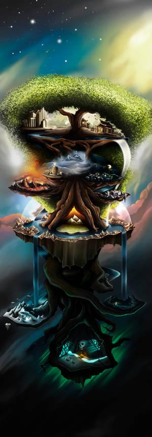 Yggdrasil the World Tree