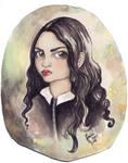 Wednesday Addams by raspeire