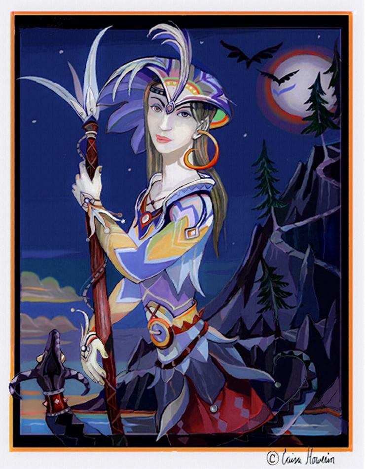 Elven Hunter by caisamargta