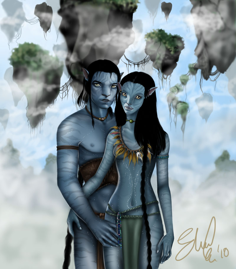 Avatar Jake: Jake And Neytiri In Hallelujah By Kina84 On DeviantArt