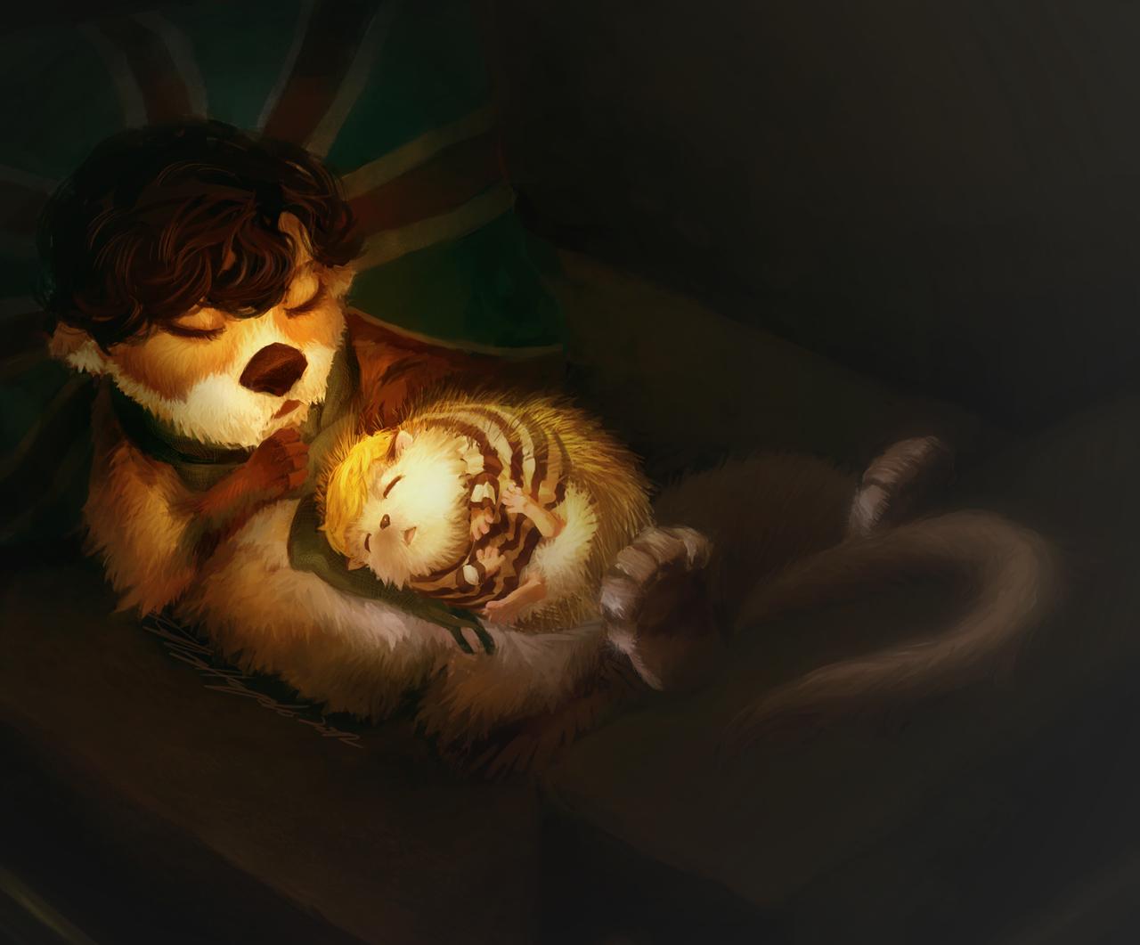 Nap by almond-goddess