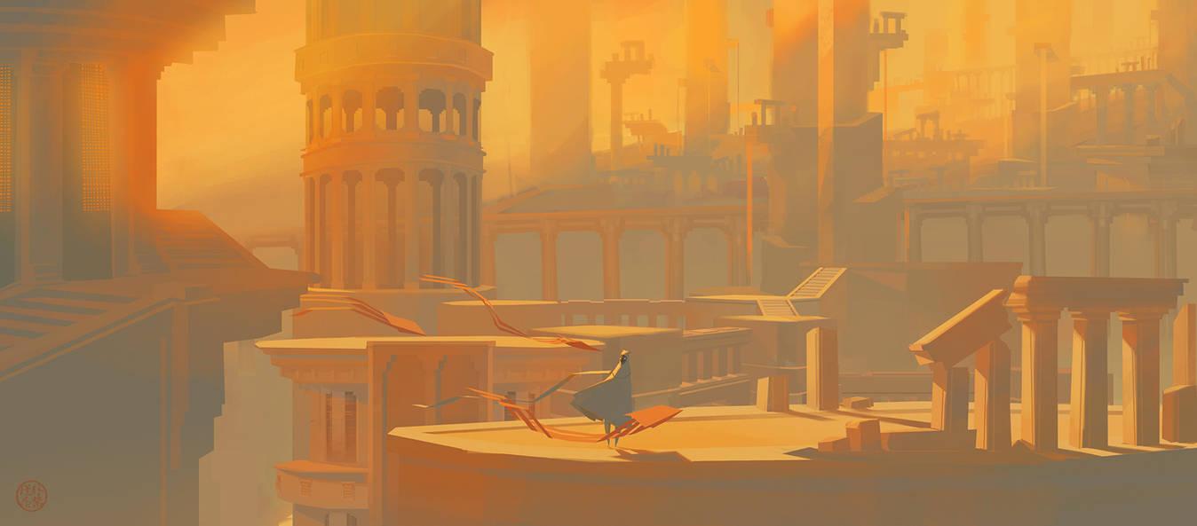 Hollow Metropolis by almond-goddess