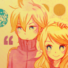 Liaks Pegasus. Twins__Rin_and_Len_by_boxedfairytale