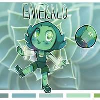 Emerald    Gemsona by KryingKraken