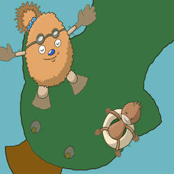 Muddy Pines by tontaku