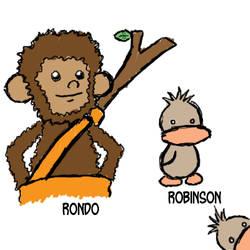 Rondo and Robinson by tontaku