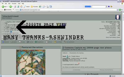 2000th pg, thanks Ashwinder by intermatrixnaut
