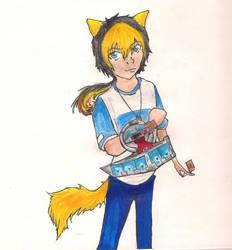 joeyblondewolf by DarkfoxchilD