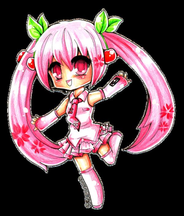 Sakura Miku by Chikukko
