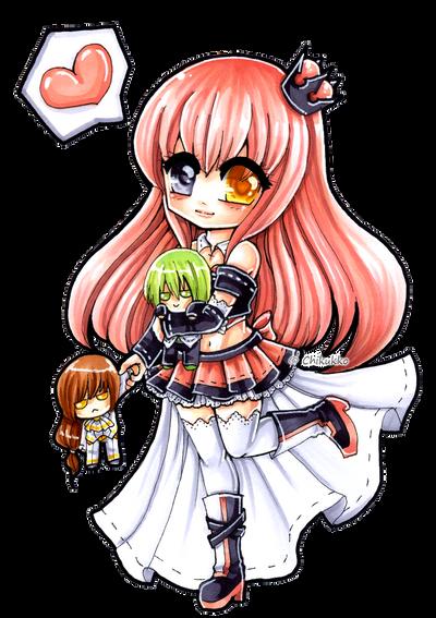 Heart you two by Chikukko