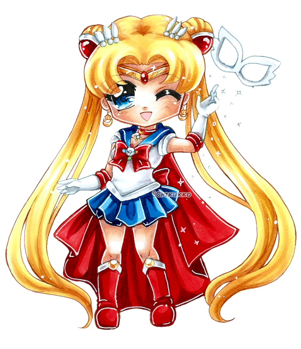 Sailor Moon by Chikukko