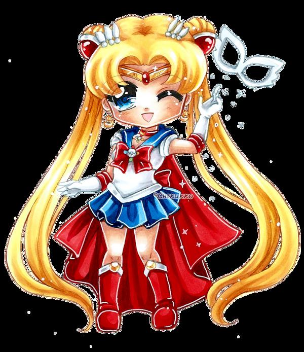Sailor Moon by Chikukko