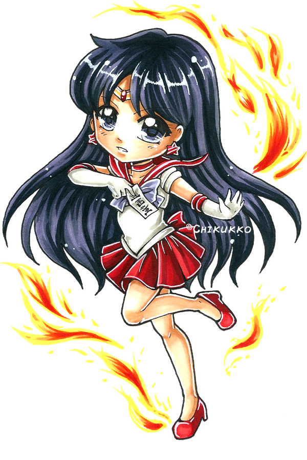 Sailor Mars by Chikukko