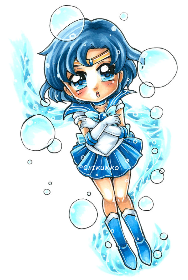 Sailor Mercury by Chikukko
