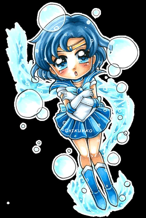 Sailor Mercury by Chikukko