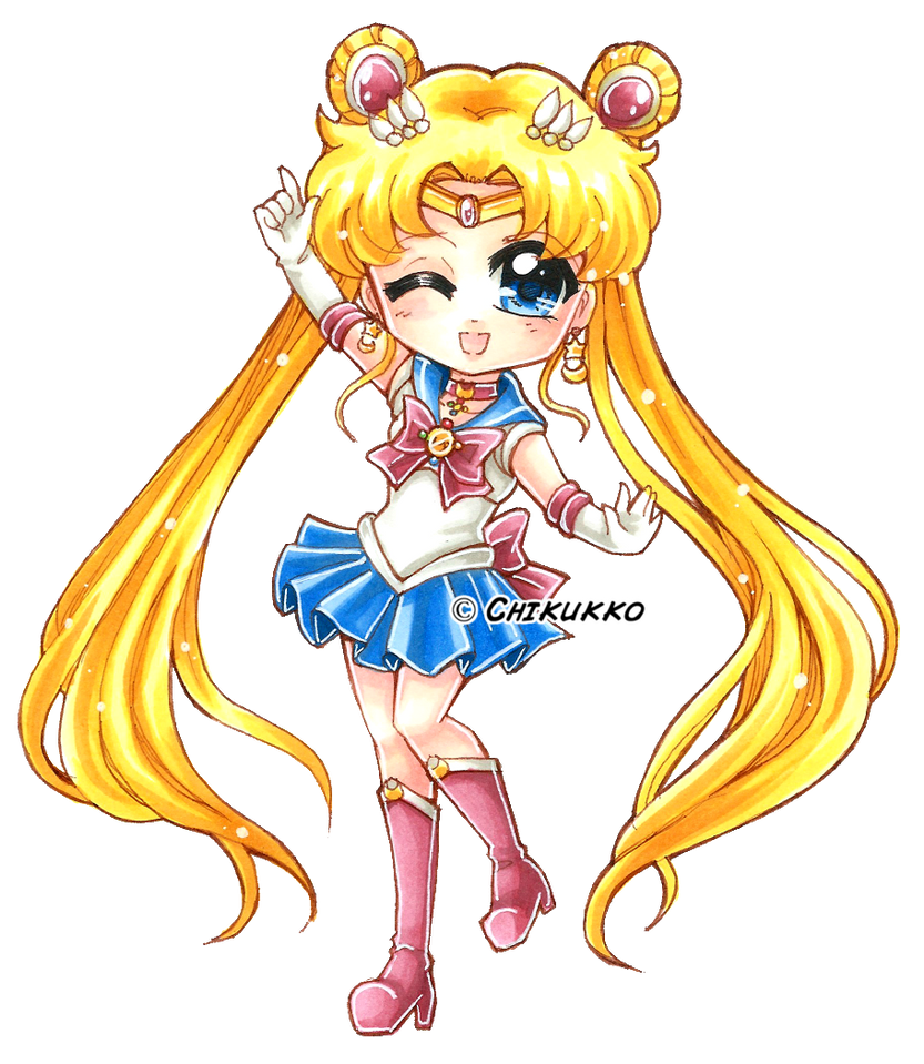 Sailor Moon Crystal by Chikukko