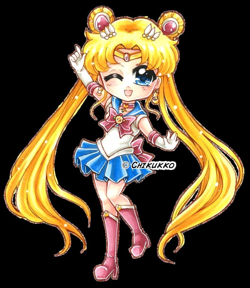 Sailor Moon Crystal by Chikukko