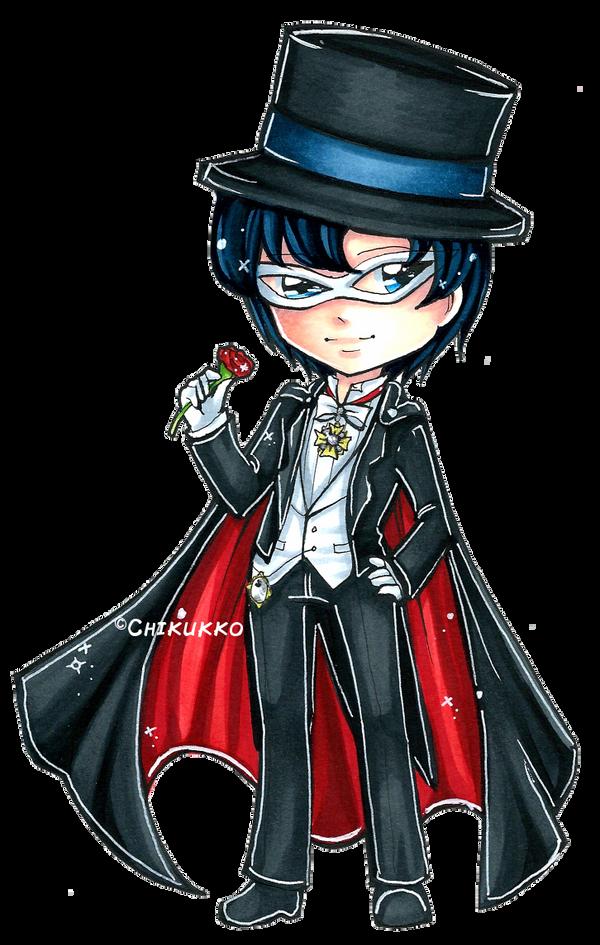 Tuxedo Mask by Chikukko