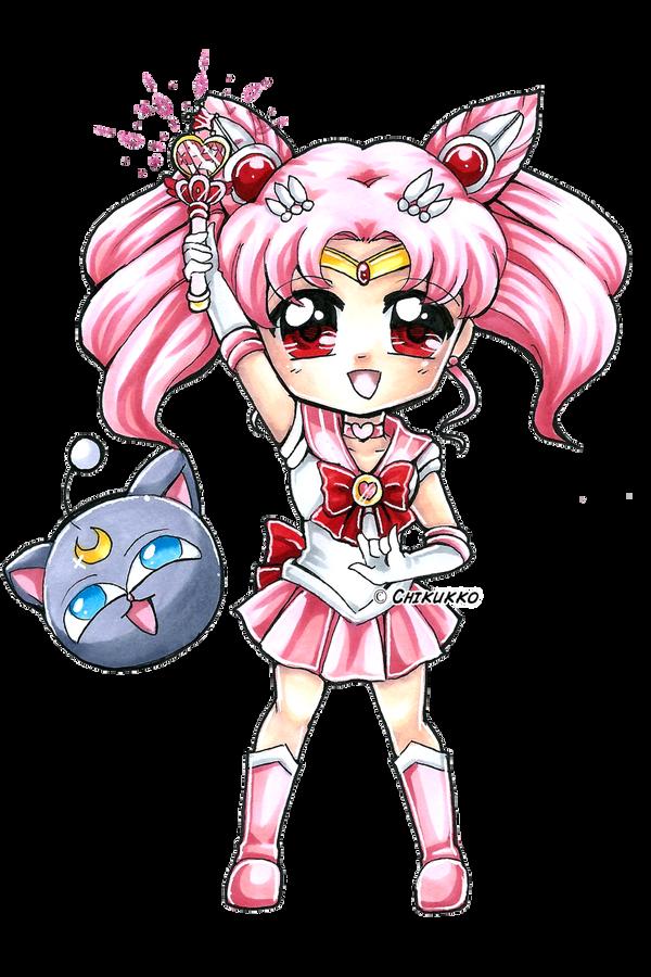 Sailor Chibi Moon by Chikukko