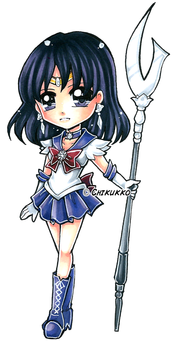Sailor Saturn by Chikukko