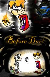 Before Dark title by DragonClaudz