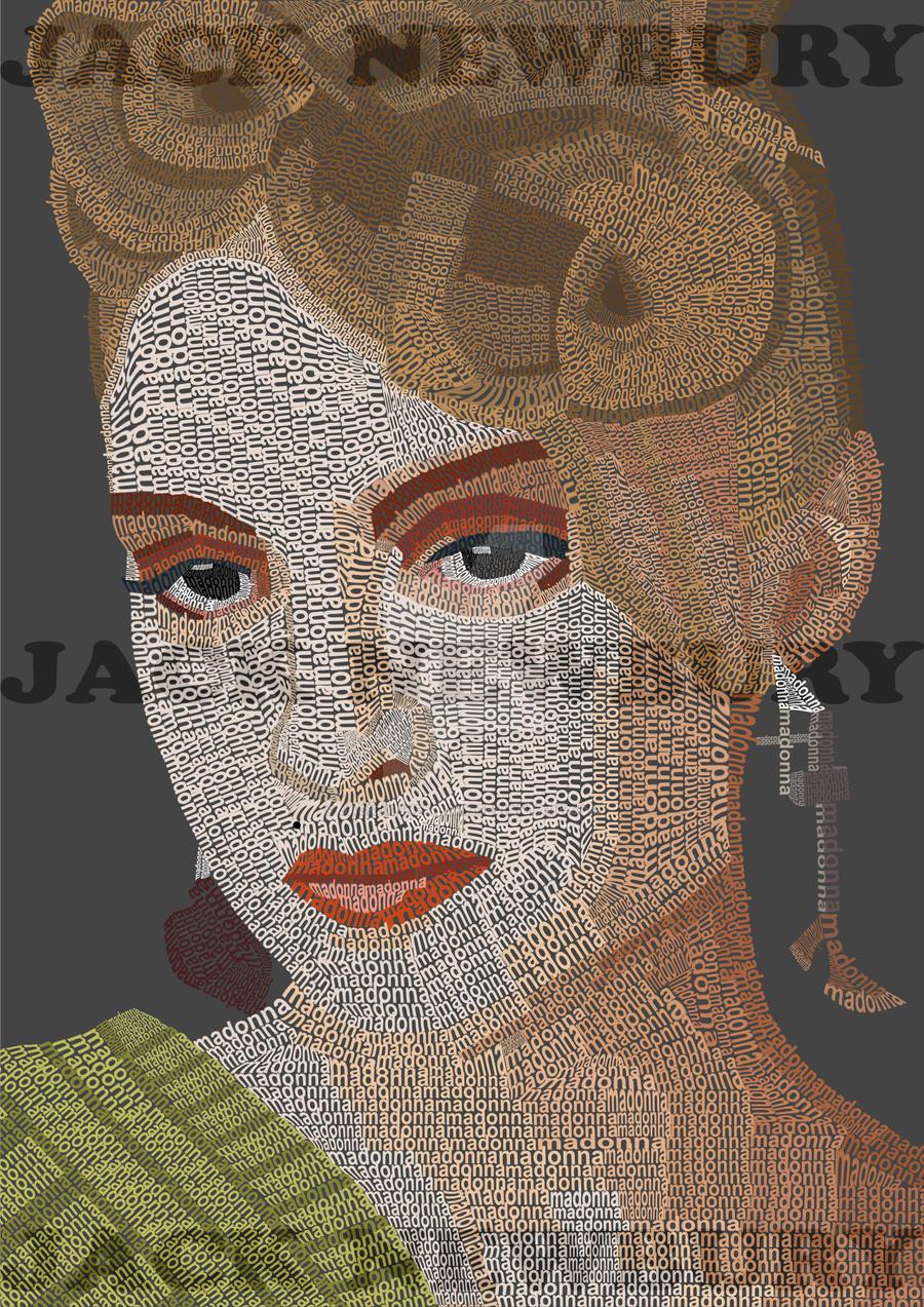 Typography - Madonna