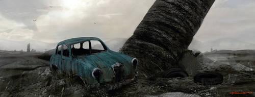 wasteland by turksenkizil