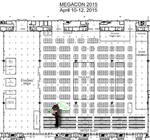 Megacon Floor Plan 2015