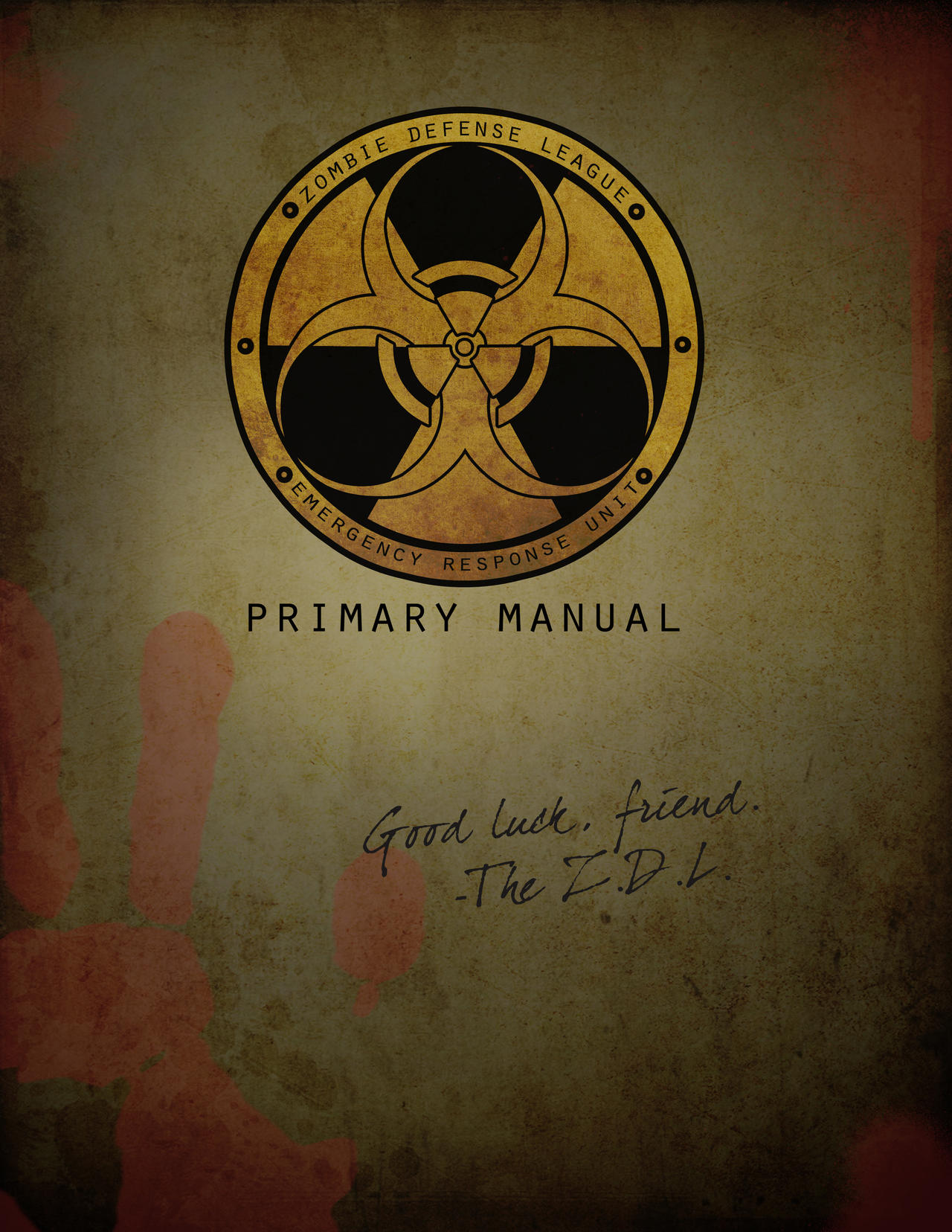 Zombie Defense League Manual by Treybacca
