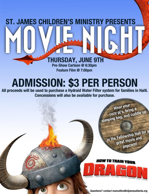 Family Movie Night Flyer Movie night flyer by treybacca