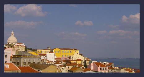 The light of Lisbon by MOONSPIRIT