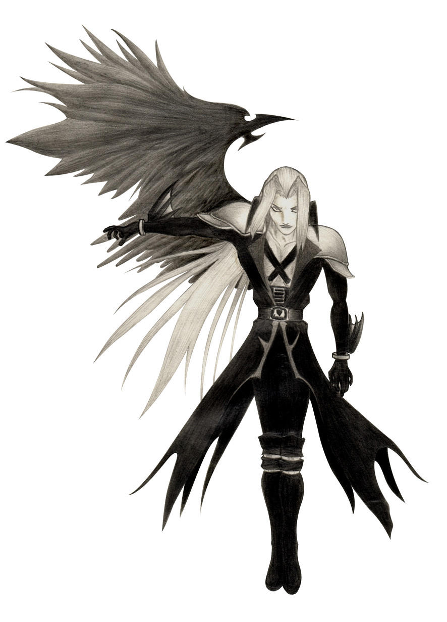 Sephiroth one winged angel by palp on DeviantArt One Winged Angel Sephiroth