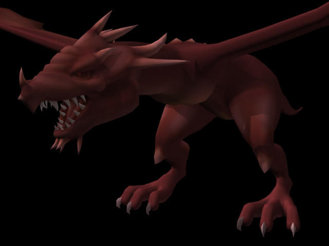 Red Dragon-WIP by palp