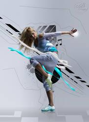 Dancer Abstract Manipulation by HbdBir