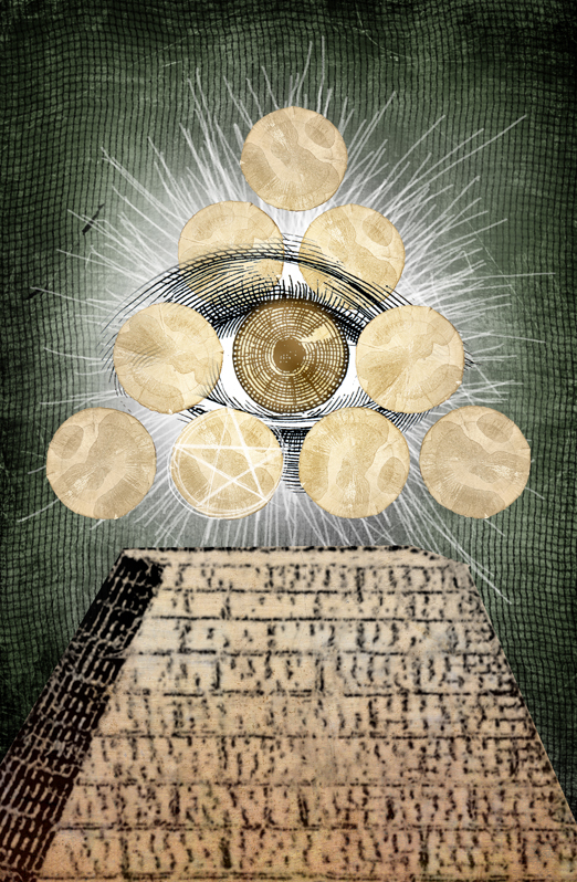 Ten of Pentacles by karacol