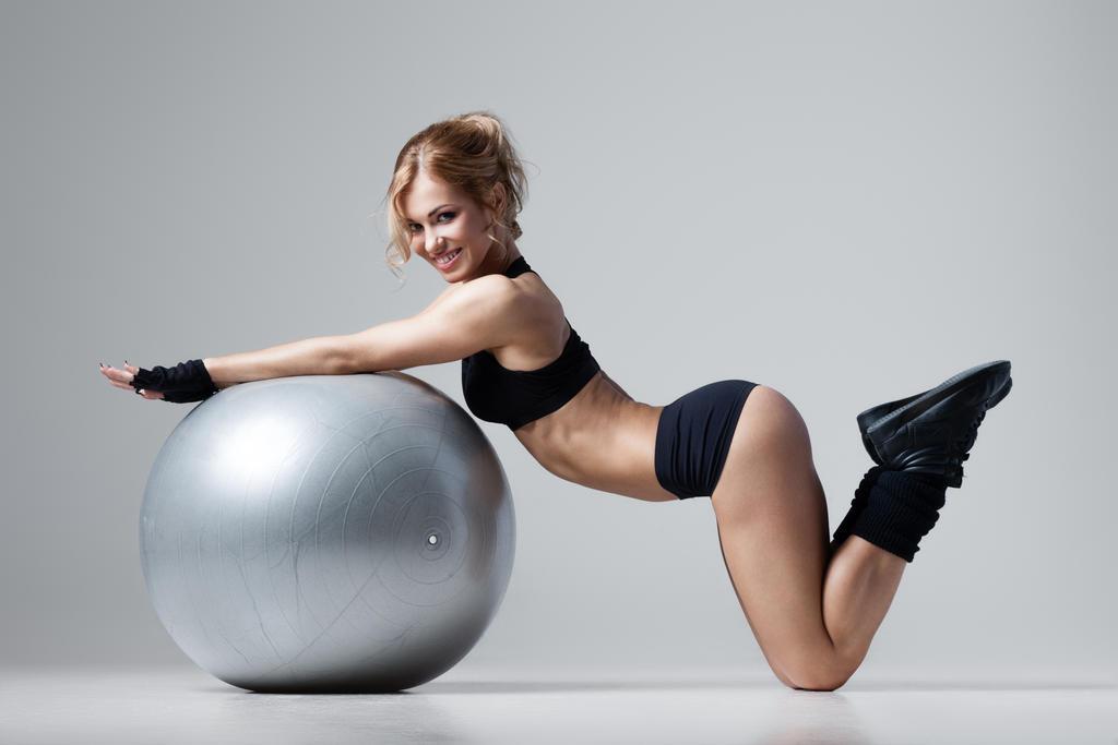 Fitness Girl by enjaart