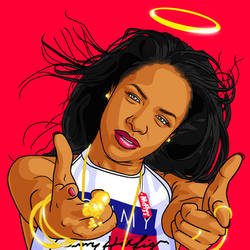 ANGEL AALIYAH by itsmcflyy