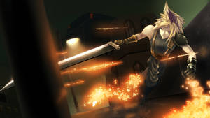 Cloud Strife, former SOLDIER
