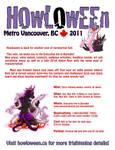 Howloween Flyer 2011