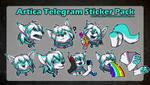 Telegram Stickers - Artica