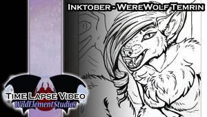 [VIDEO] Inktober 2016 - Werewolf Temrin by Temrin