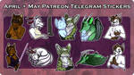 PTR - May/April Telegram Stickers
